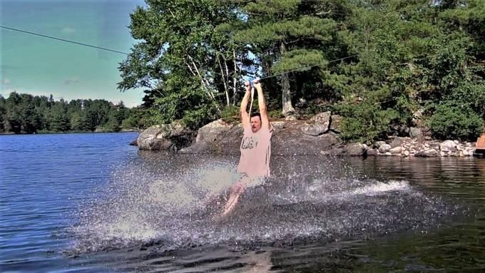 Rainy Lake, Ontario, Canada Nikon Coolpix S6500