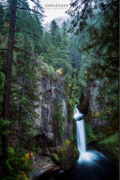 Tokatee Falls- Oregon