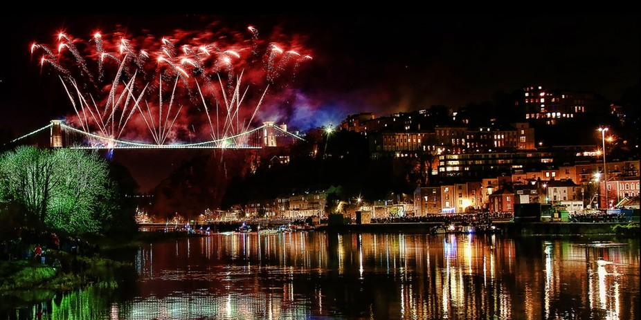 Bristol Clifton Suspension Bridge 150th Anniversary Celebrations by troypointerphotography also a...