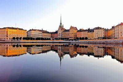 Stockholm in July