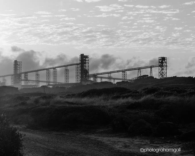 Sunset at Portland Aluminium Smelter by grahamgall - Industry Photo Contest