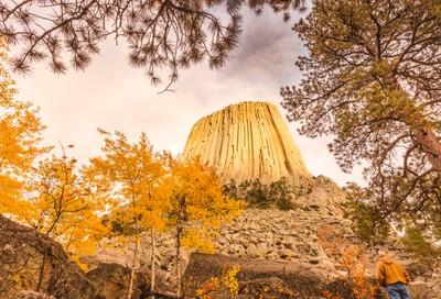 Autumn In Devil's Tower
