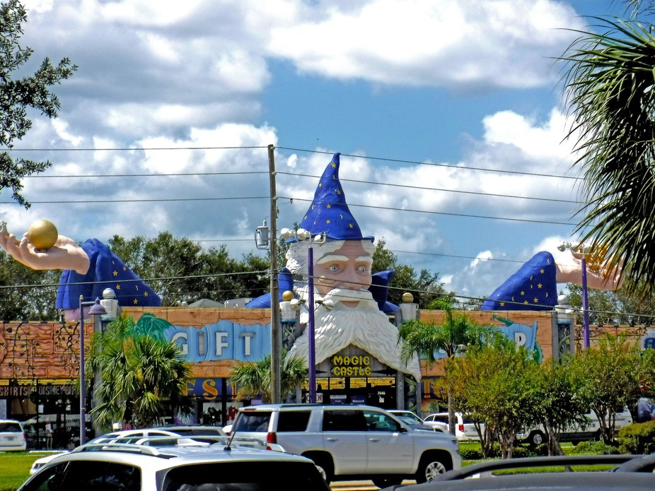 Gift shops of SR192 West. Kissimmee Florida