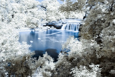 Elyria East Falls in Infrared