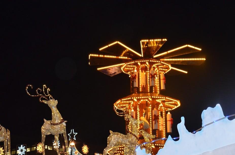 #christmas # reindeer #christmaslights #glasgow