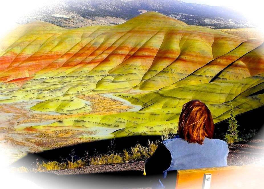 Taken at The John Day Fossil Beds National Monument Painted Hills Unit Oregon, USA