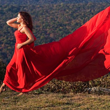 Kristen-Red Dress