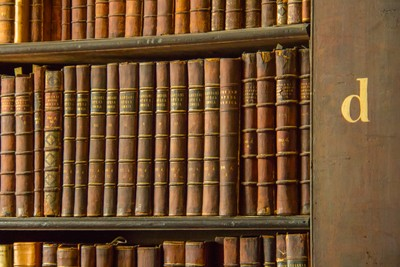"""c"" Books on ""d"" Shelf"