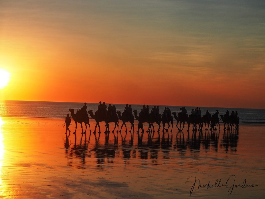 Cable Beach, Western Australia - Very rarely a disappointing sunset!