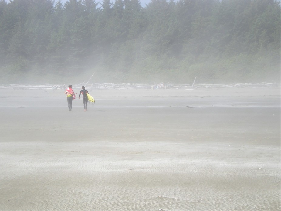 Tofino, British Columbia, Canada has an amazing surf culture! I happened to be walking the beach ...