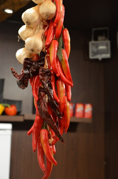 There's nothing like bunch of chillies