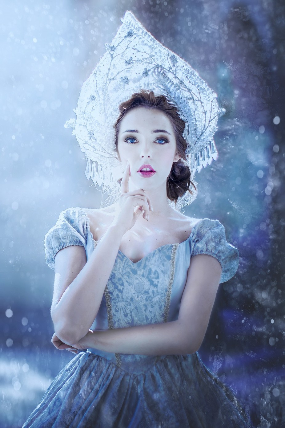 winter queen  by magorzatakuriata - Image Of The Month Photo Contest Vol 28