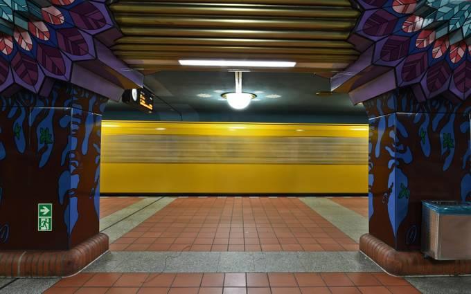 Underground station by kasper - Public Transport Hubs Photo Contest