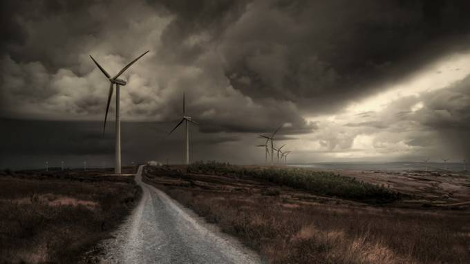 Reserved Energy by MiguelMartins - Windmills Photo Contest