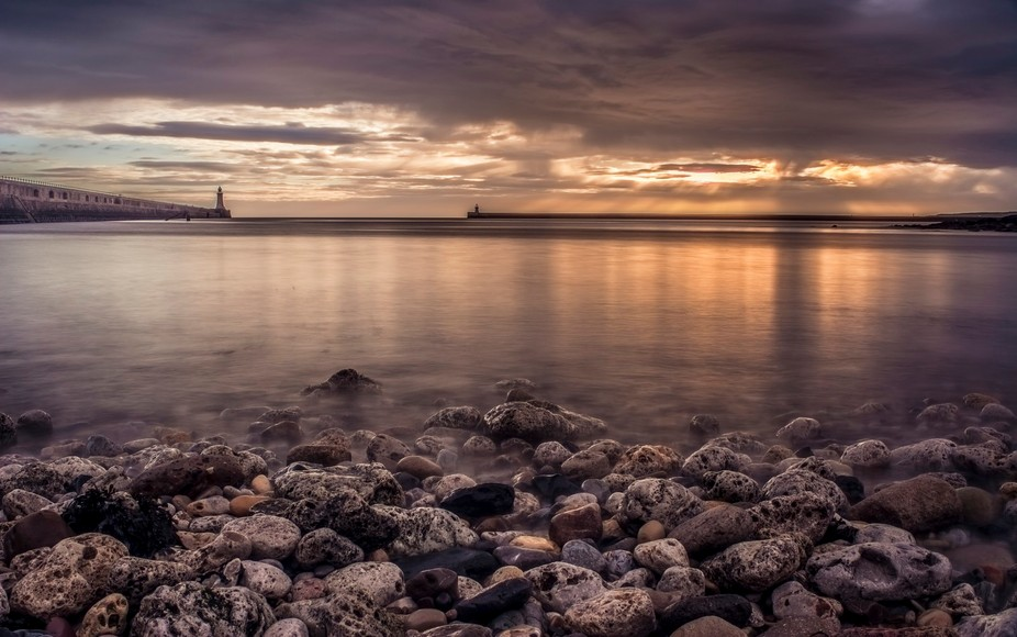 Starting a new journey on Viewbug with my first photo shot in 2015 on Tynemouth beach in Newcastl...
