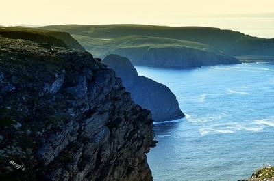 A view from Nordkapp