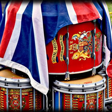 Drumhead on remembrance day.