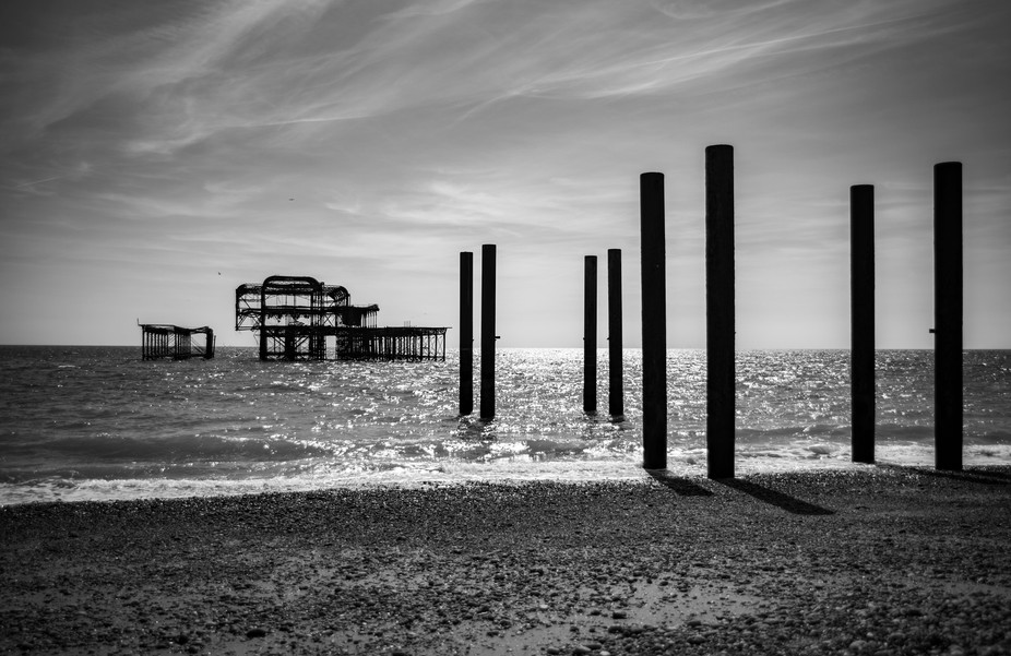 The West Pier is a pier in Brighton, England. It was designed by Eugenius Birch, opening in 1866 ...