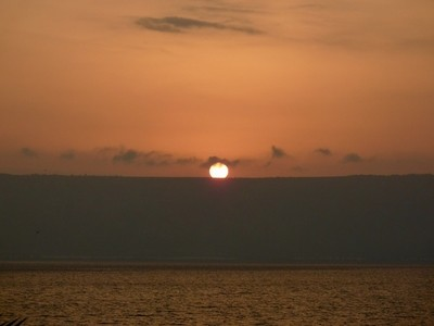 Sunrise over Tiberius