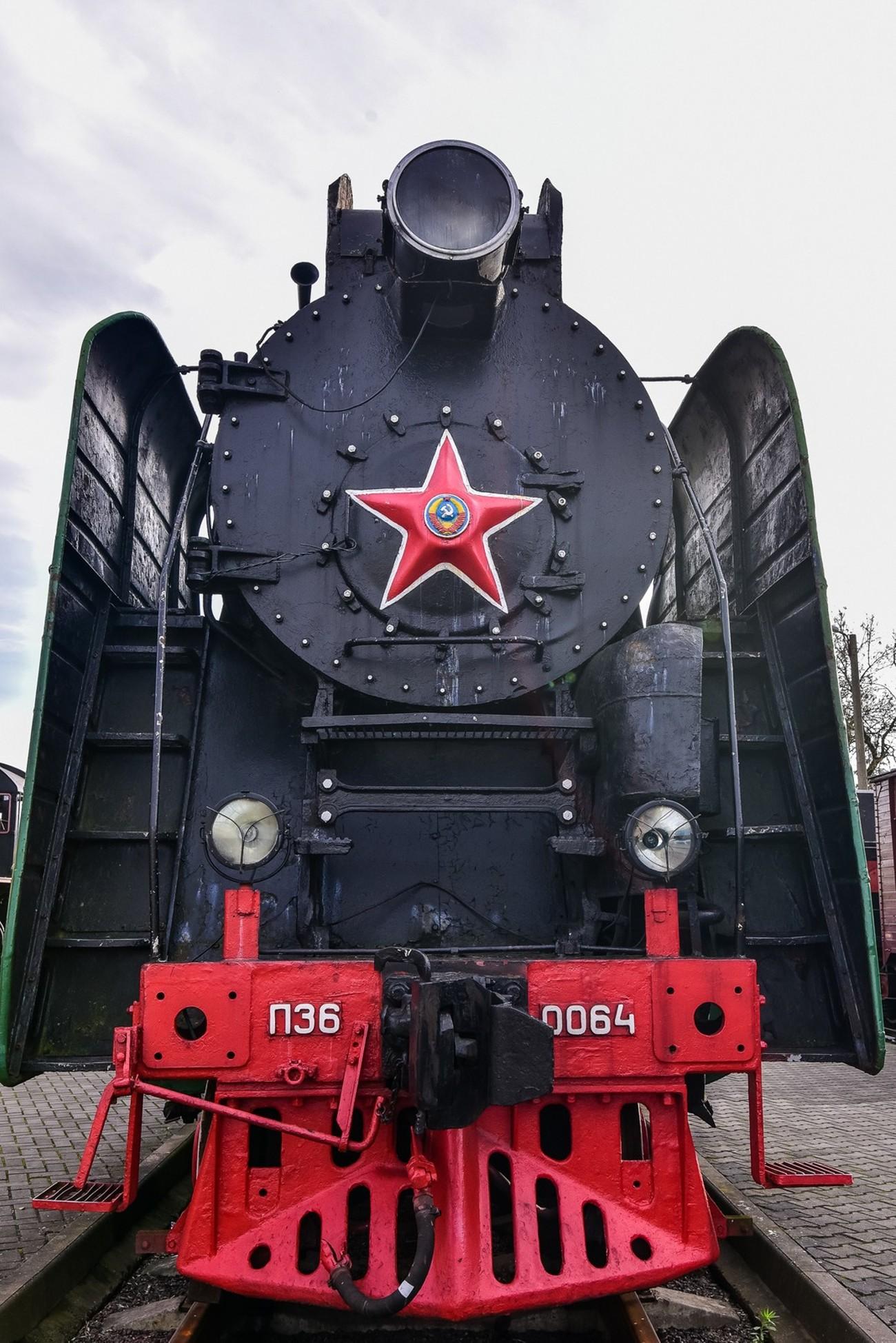 locomotive's museum in Brest, Belarus