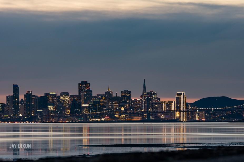 Sunset On San Francisco