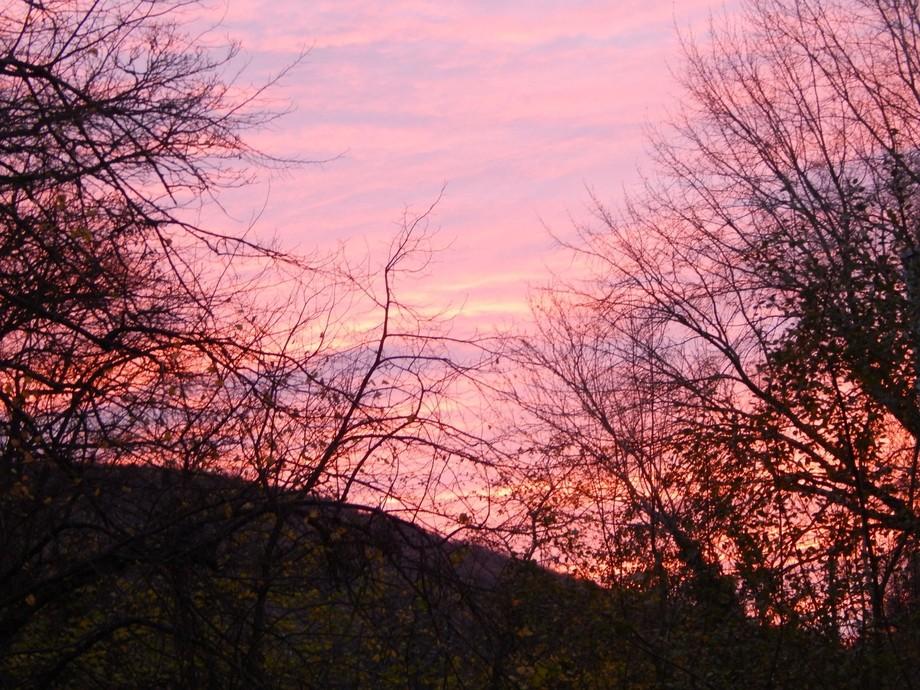 sunset Pontypool