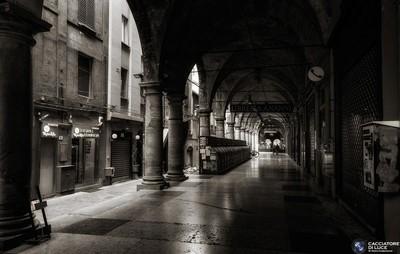 Walking in Bologna