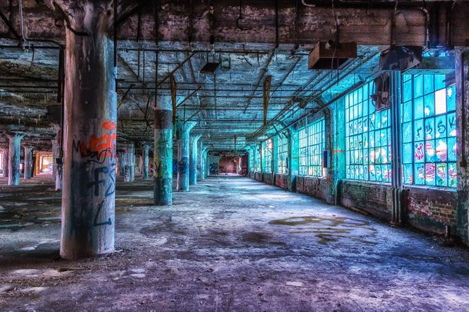 The Blue Room by gailhowarth - Warehouses Photo Contest