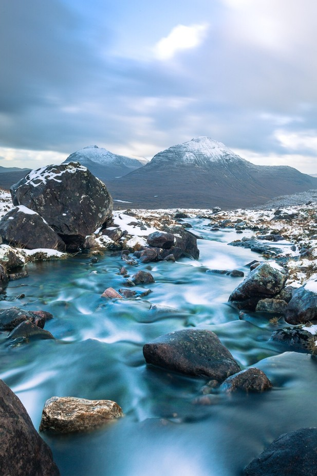 The Torridon Hills, Scotland by michaelscott_4451 - Streams In Nature Photo Contest