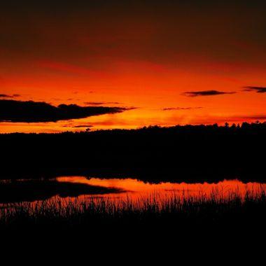 Photo of Jackfish Bay just at Dusk Nikon Coolpix 6500