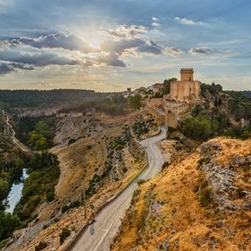 Castle of Alarcon in the province of Cuenca, Castilla-La Mancha, Spain.