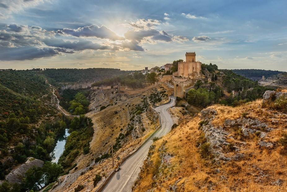 Castle of Alarcon in the province of Cuenca, Castilla-La Mancha, Spain.