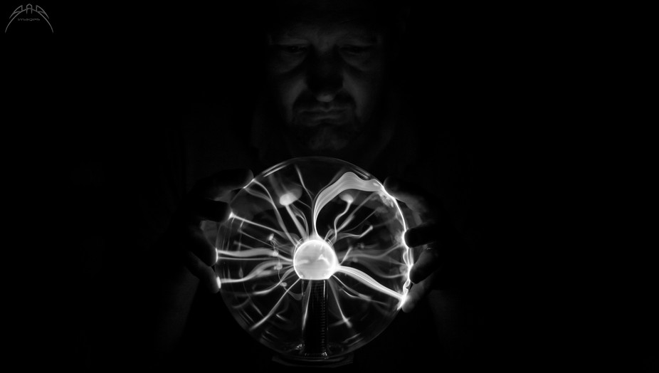 I got a new, larger plasma ball. I had an idea using my son as the subject, but he doesn&#039...