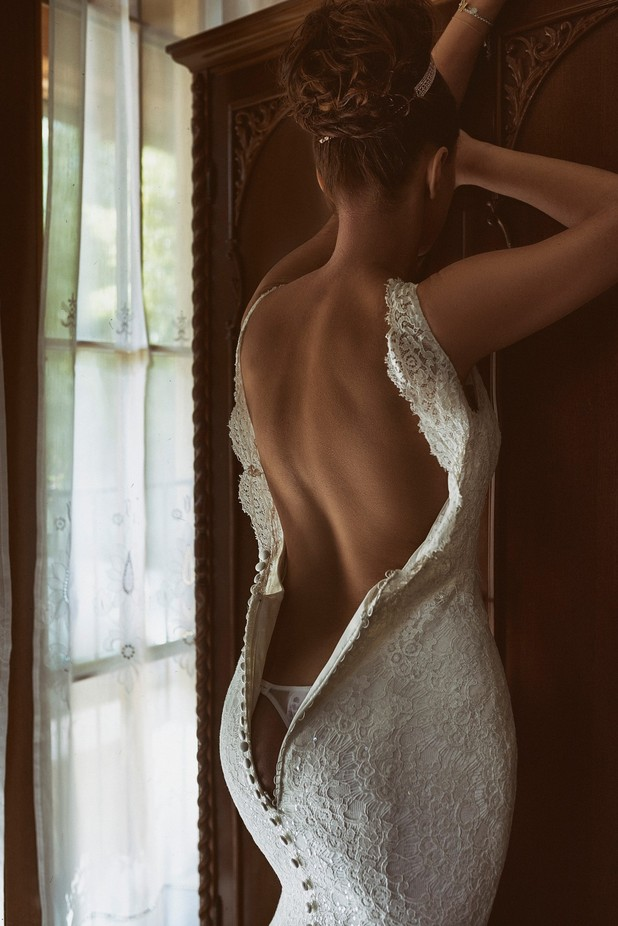 Kiara in the wedding dress by AlexLove - Sensual And Artistic Photo Contest