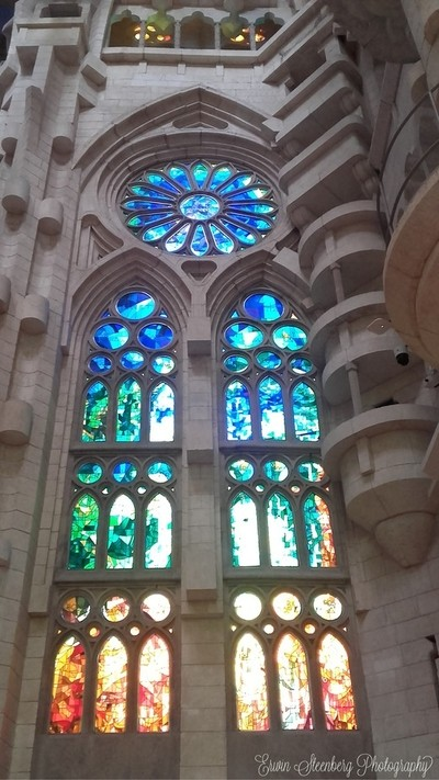 Sagrada Familia, Barcelona, August 2017.