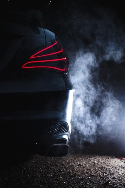 Cold day exhaust