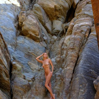 Image from our hike in Palm Springs