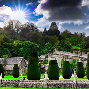 Lanhydrock, National Trust, Cornwall, UK.