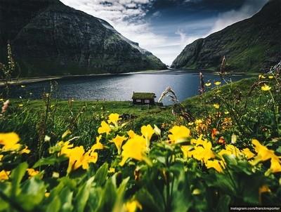 Cabin in Saksun - Faroe Islands