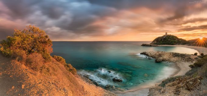 The last lights of the day Chia Sardinia by MaurizioCasulaPhoto - Creative Landscapes Photo Contest