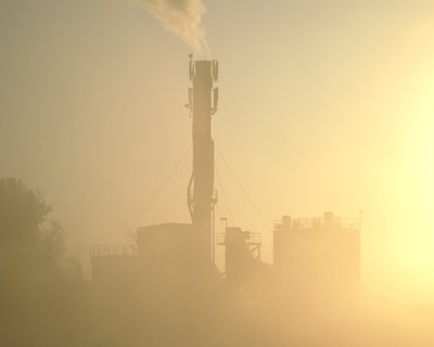 Industrial sunrise