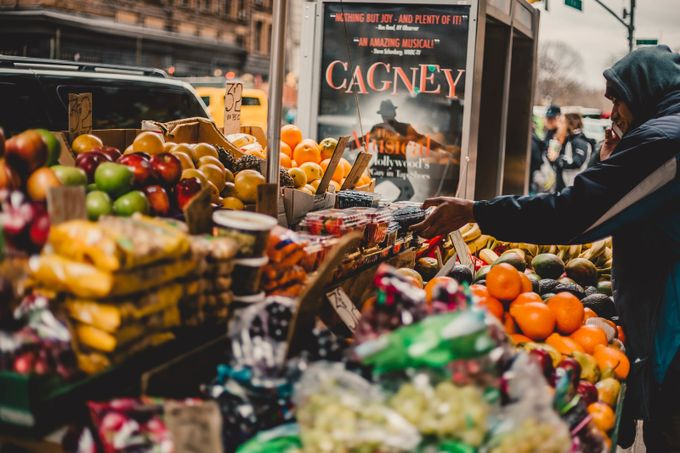 NYC City Street Market by JMKEPhotography - Food Markets Photo Contest