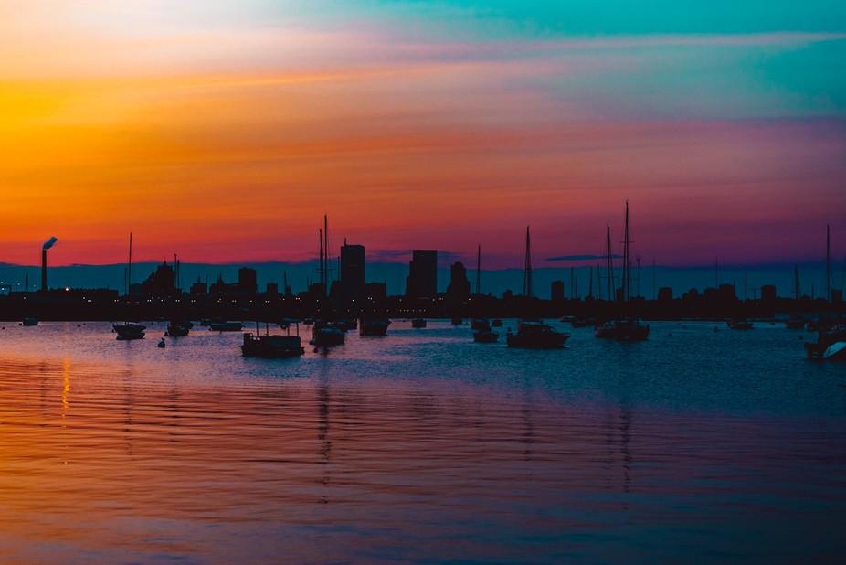 milwaukee port sunset-10