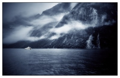 Milford Sound In Blue.