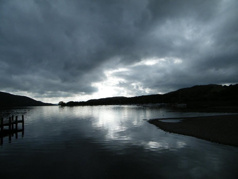 Photo of Coniston Water.