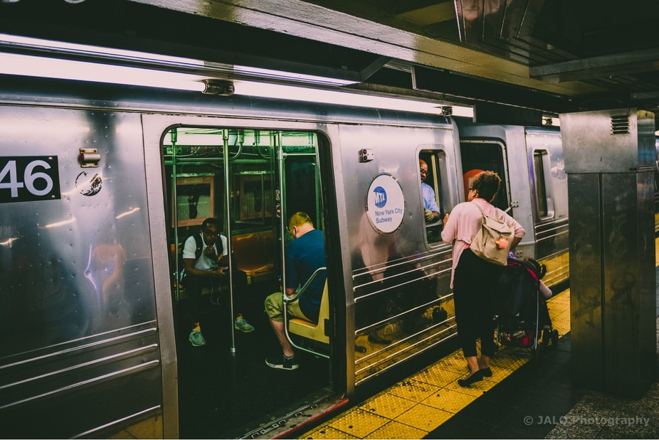 New York is so diverse. When you're on the street or in the subway, you're experiencing...