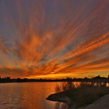 Peck Road Sunset IMG_4935
