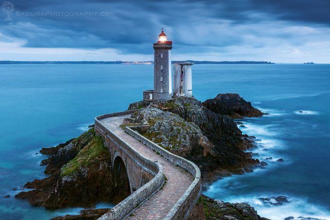Petit Minou Lighthouse by henryksadura - Promenades And Boardwalks Photo Contest