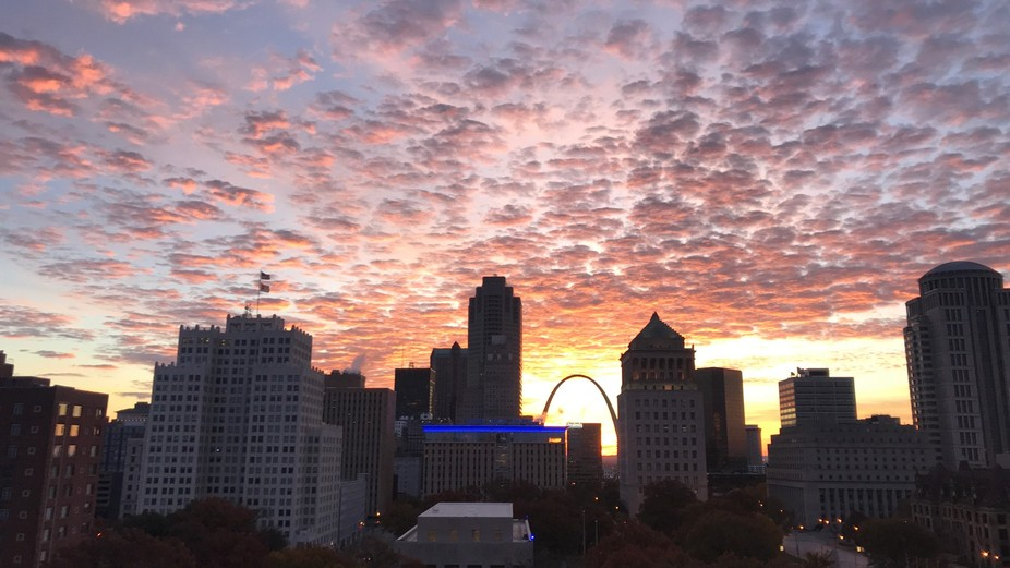 Early morning St Louis Mo