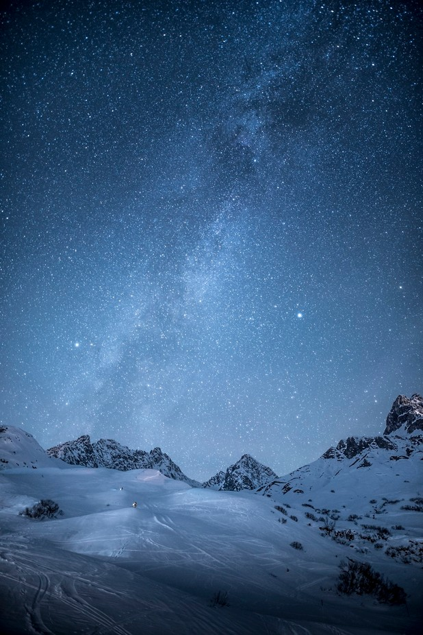 Alps in Austria by globalpixxel - The Milky Way Photo Contest